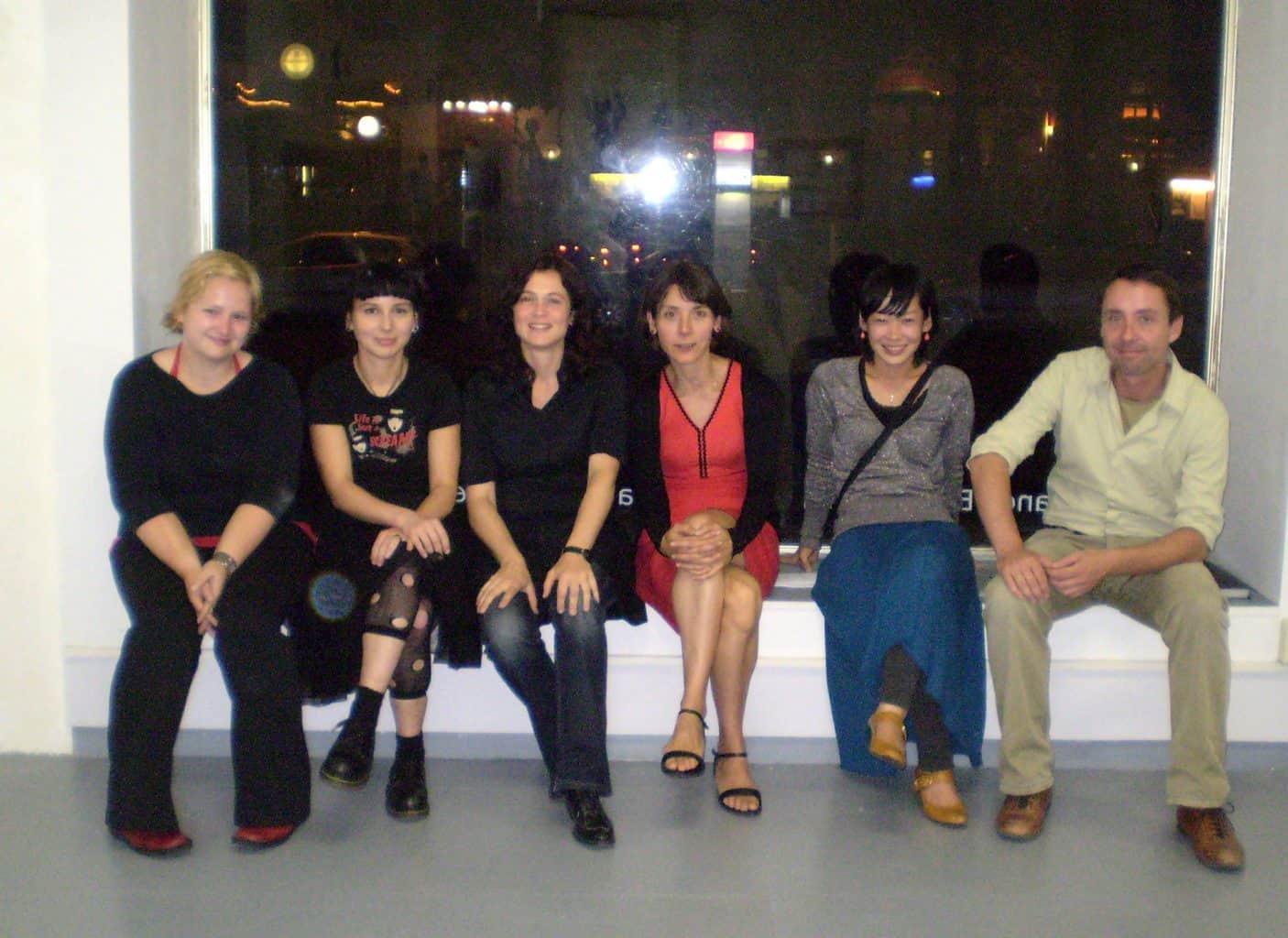 gruppenfoto-Michiko_Nakatani-Franca_Bartholomaei-Neudeli-Kunstraum-leipzig