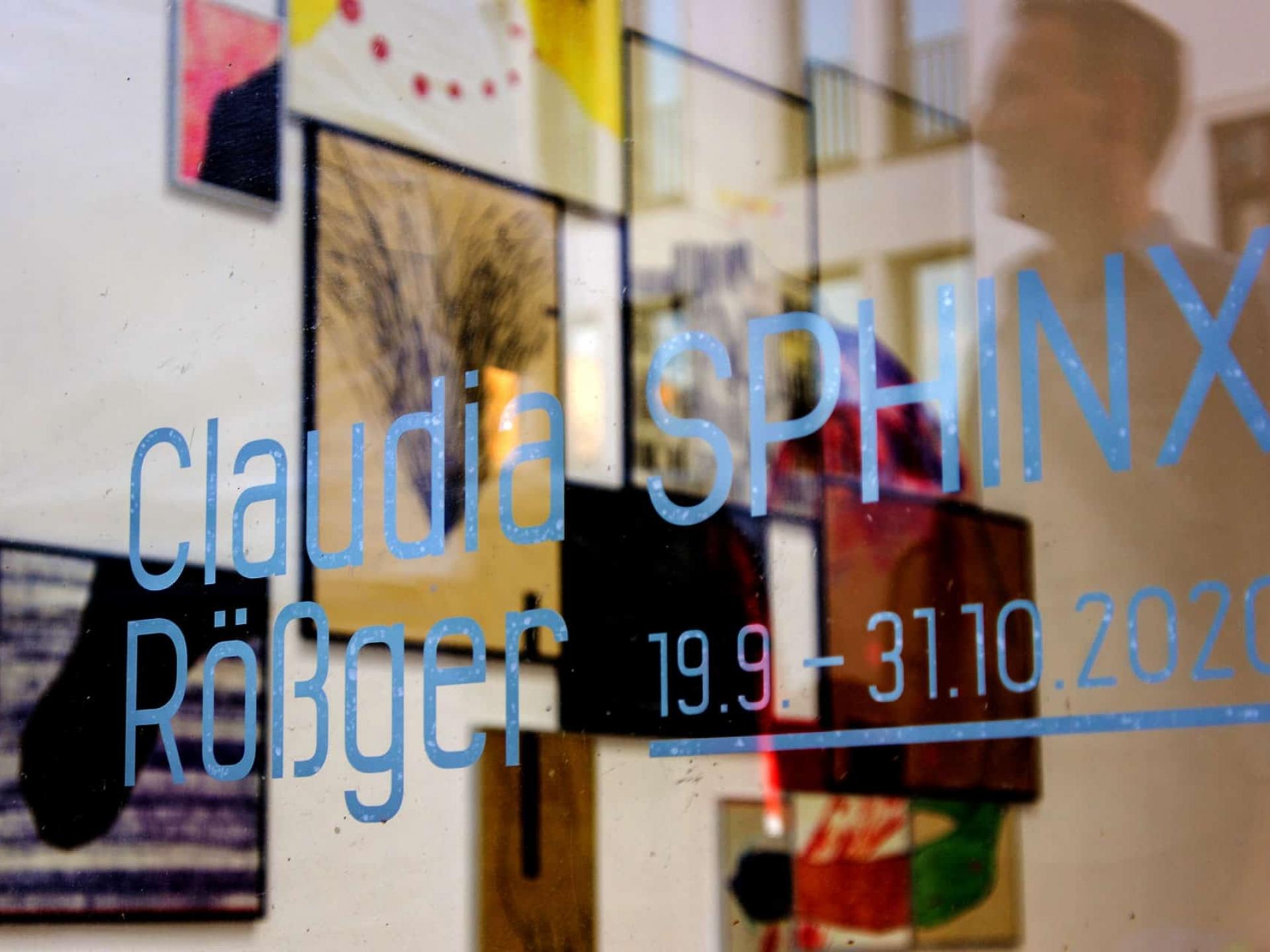 Claudia Rößger, Ausstellungsansicht
